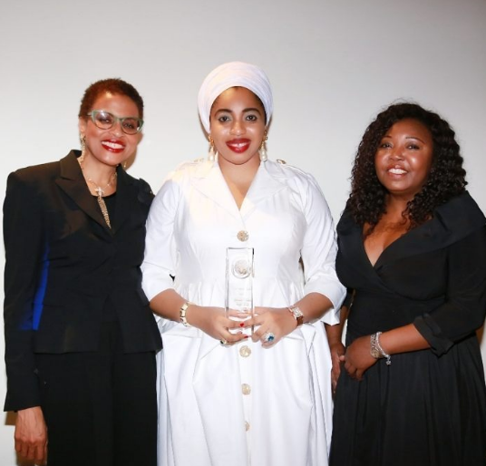 Here Is How Ex-Wife Of Ooni Of Ife Was Honoured In New York