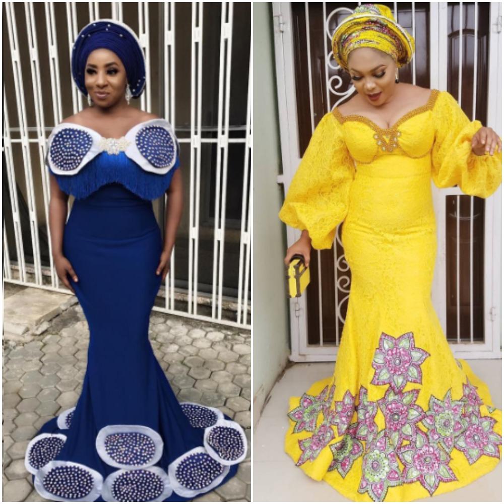 Asoebi  Style: Regina Chukwu Vs Mide Martins
