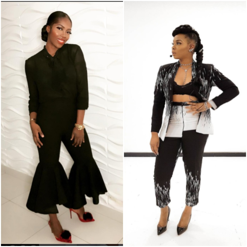 Tiwa Savage Vs Yemi Alade Instagram Photos