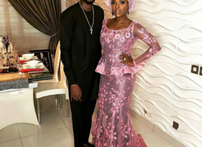 Celebrity Couples At Adesuwa Etomi And Banky W Wedding