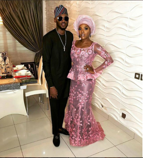 These 8 Celebrity Couples Gave Us Major Love Goals At Adesuwa Etomi And Banky W's Wedding
