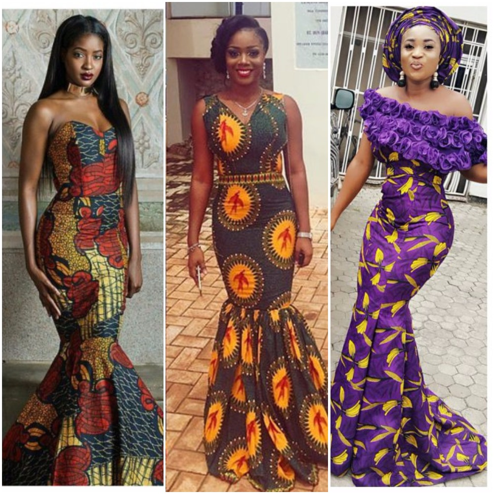 14 Trending Ankara Mermaid Dresses Bound To Make You Stand Out At Your Next Owambe