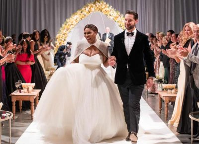 Serena Williams And Alexis Ohanian Wedding Photos
