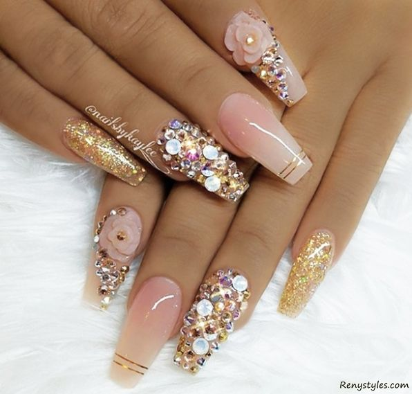 3d nail designs graham reid 3d nail art designs to inspire your next manicure fabwoman 3 this super pretty design features prinsesfo Gallery
