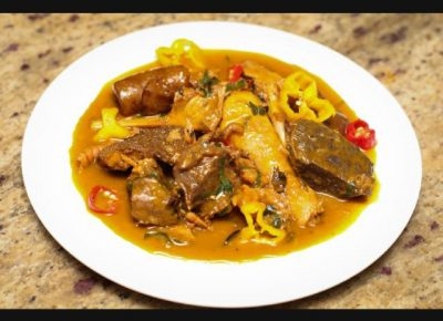 How To Prepare Ibaba Soup
