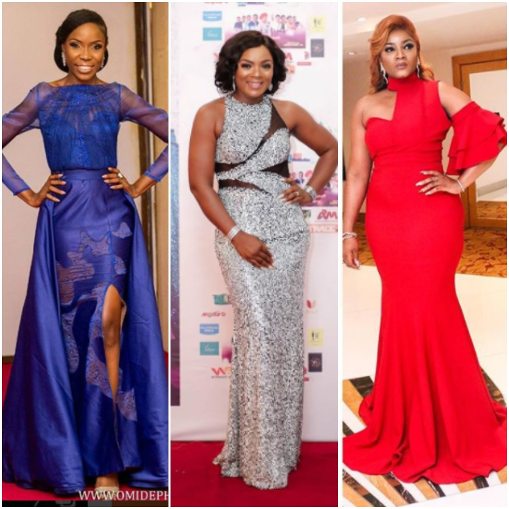 Nigerian Female Celebrity Red Carpet Style Of 2017