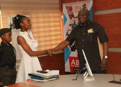 Joy Ezechikamnayo Becomes Abia State Governor For One Day