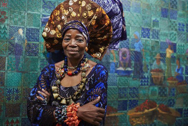 badcea7daac9 AMAZING STORIES AROUND THE WORLD  A Profile On Nike Okundaye
