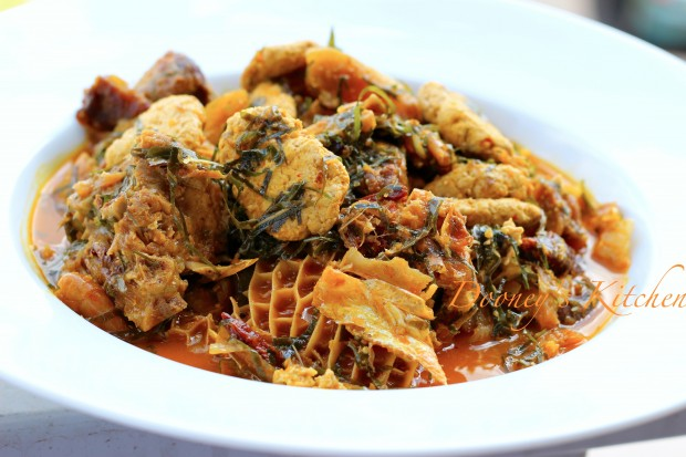 The Is The Simplest Tutorial Ever On How To Prepare Okazi Soup!