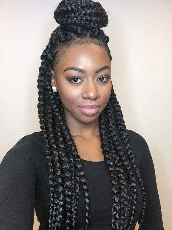Jumbo Braids Are The Rave This Season. Learn How To Make It Yourself