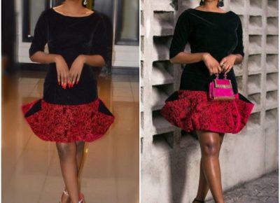 Ini Dinma Okojie Vs Sophie Momodu In A Lanre Daslyva Ajayi Dress