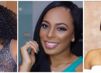 Nigerian Female Celebrities Makeup Photos