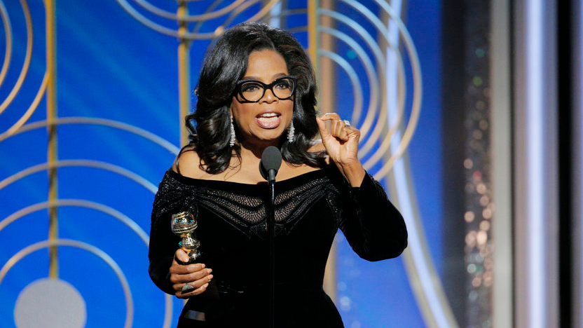 Oprah Winfrey's Speech At Golden Globe Awards 2018