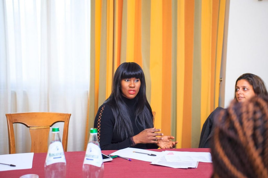 Stephanie Linus Advocates For Human Trafficking In Italy