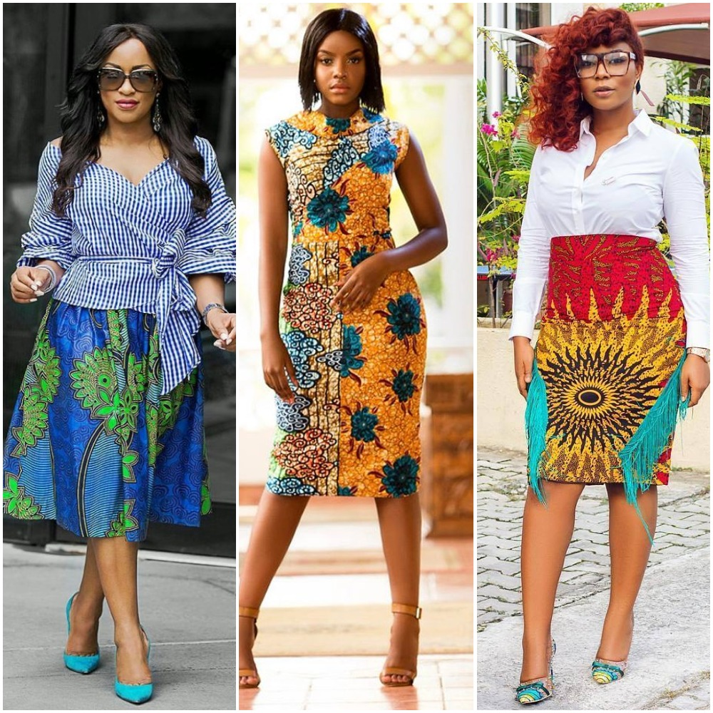 10 Unique Styles That Women Could Wear Ankara To Work Photos Bodedolu Reports