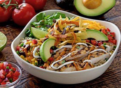 Chicken Suya Salad Recipe
