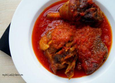 Tomato-less Stew Nigerian Recipe