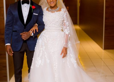 Fatima Dangote Jamil Abubakar White Wedding Photos