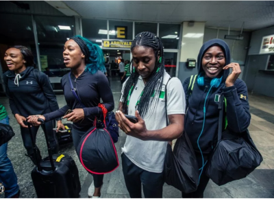 Nigerian Bobsled Queens Get Grand Welcome In Lagos