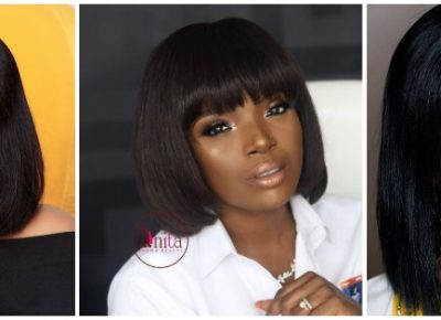 African Celebrities Bob Hairstyle