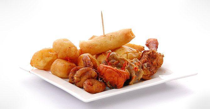 Nigerian Food Wedding Menu