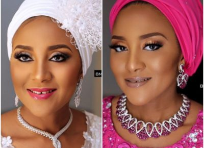 Fatima Dangote Beauty Looks For Wedding