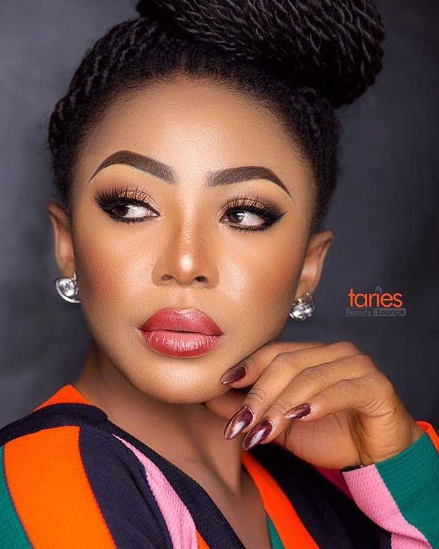 Ex BBNaija Housemate, Ifu Ennada Is A Beauty In These Trending Makeup Photos