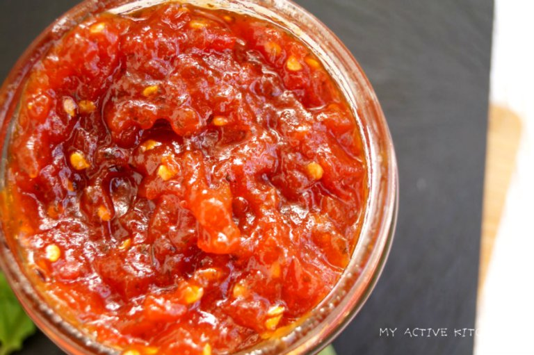 Homemade Tomato And Ata Rodo Jam Recipe