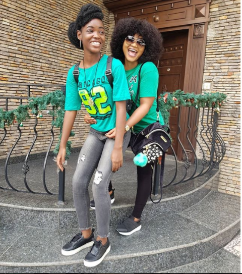 Mercy Aigbe Shares Inter-house Sports Photos With Her Family