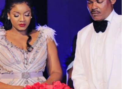 Omotola Jalade And Husband 22nd Wedding Anniversary