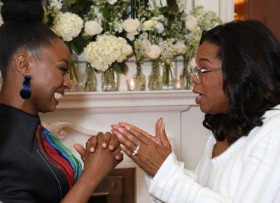 Chimamanda Adichie Meets Oprah Winfrey