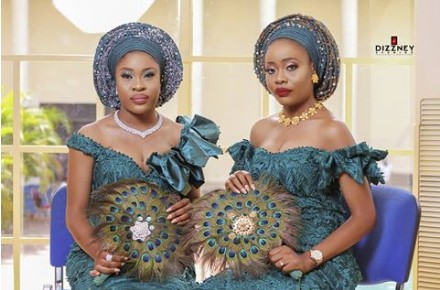 These Twin Sisters Are All Shades Of Pretty As They Wed Traditionally On The Same Day In Calabar