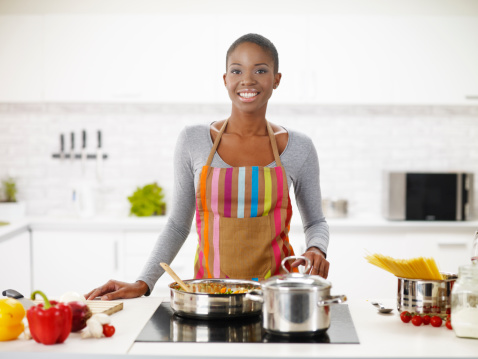 5 Methods To Kill Boredom This Easter As A Single Girl woman cooking