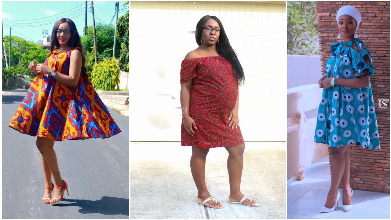 Ankara Styles For Pregnant Women