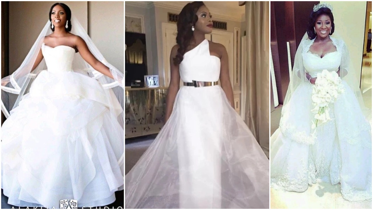 Nigerian Celebrities Unique Wedding Dresses Photos  Fabwoman. Sun Moon Rings. Santa Rings. Little Wedding Rings. Evil Rings. Wooden Box Engagement Rings. Glow Rings. Huge Beautiful Wedding Rings. Lantern Rings