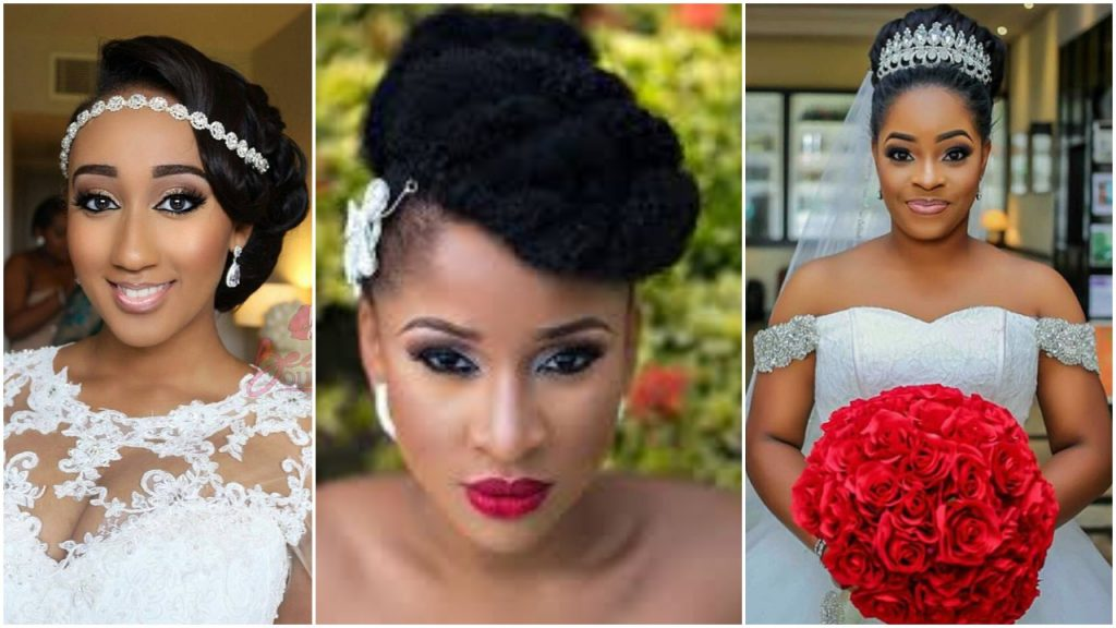 Latest Bridal Hairstyles For Nigerian Brides Fabwoman
