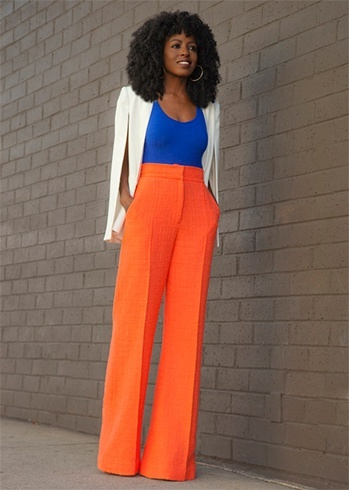 Image result for nigerian woman wearing palazo