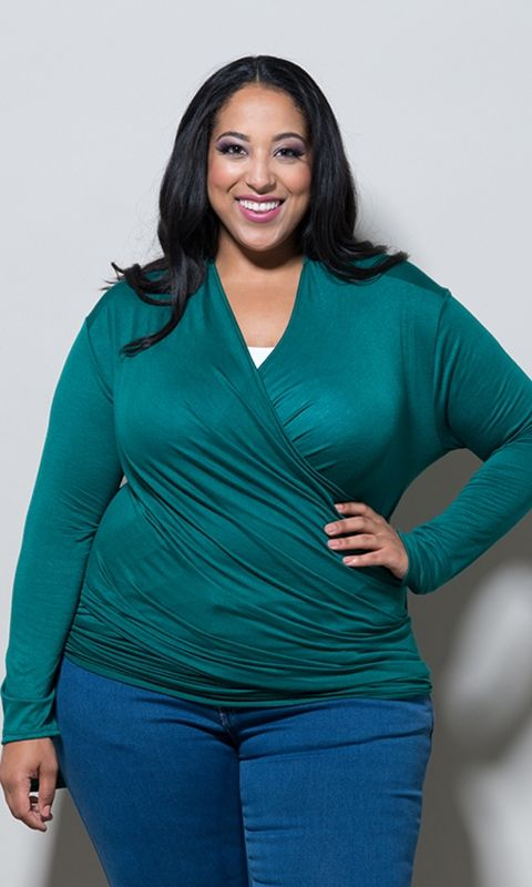 d02a319ab26 Every Plus Size Lady Should Have One Of These Blouses In Her Closet