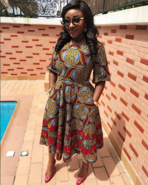 Nigerian Female Celebrities Who Love Ankara