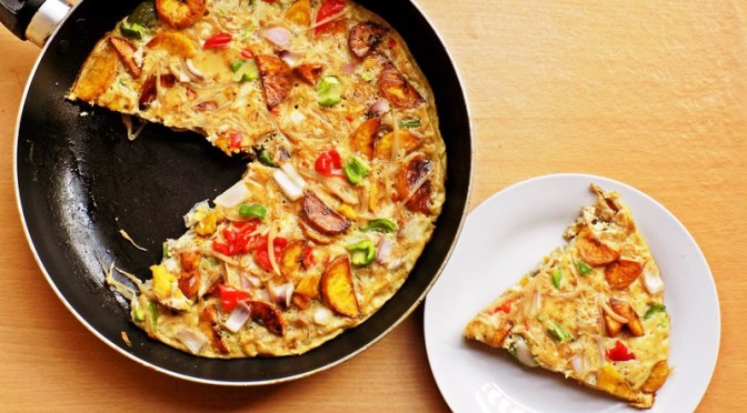 Switch Up Your Breakfast Menu With This Yummy Plantain Frittata Recipe