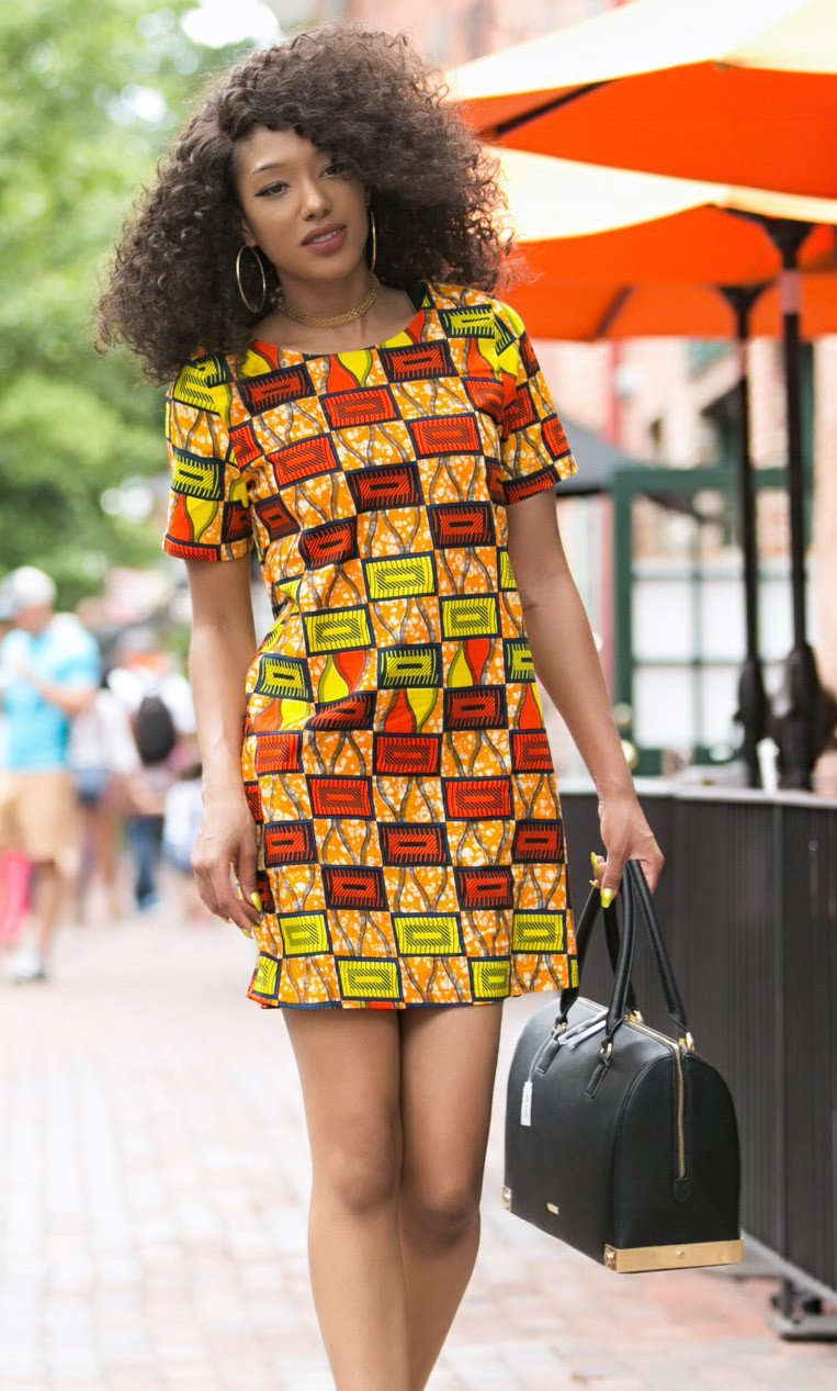 Ankara Dresses For Corporate And Casual Events Fabwoman