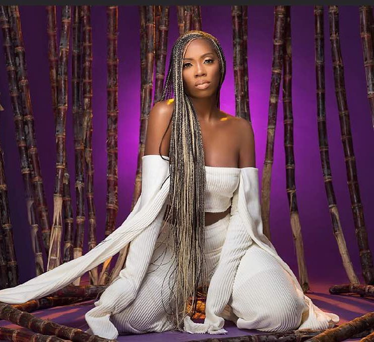 Tiwa savage had an exclusive chat with Toolz