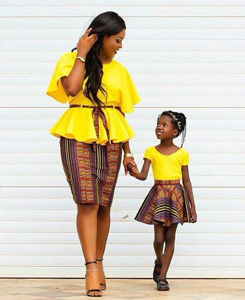 These 13 Photos Of Mothers And Their Daughters Twinning In Ankara Will Make Your Day