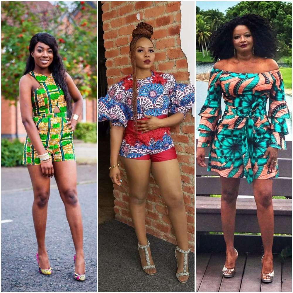 Latest Ankara Playsuit Styles You Will Love Fabwoman