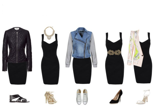 Different Ways To Style Your Little Black Dress Fabwoman