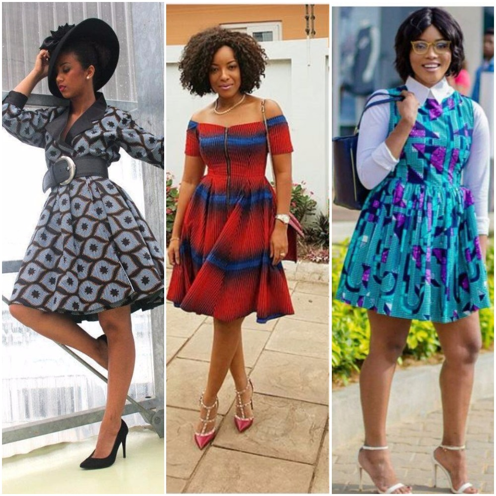 Trending Ankara Flare Dresses You Would Love | FabWoman