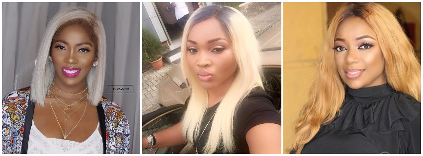 Nigerian Female Celebrities Who Love Blonde Hair