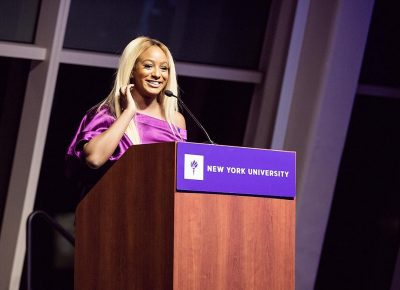 DJ Cuppy Honoured With Award From NYU