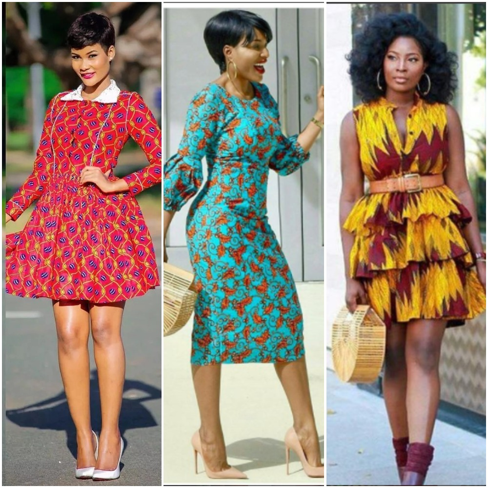 Ladies Gowns: 19 Latest Ankara Short Gown Styles Ladies Should Have