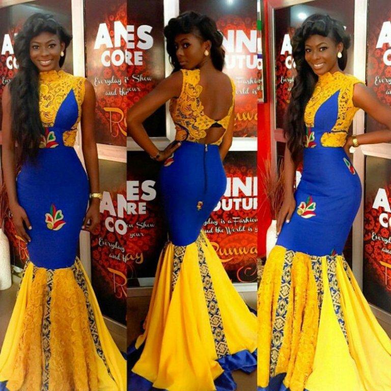 14 stylish ankara mermaid dresses you should sew 14 Stylish Ankara Mermaid Dresses You Should Sew mer11